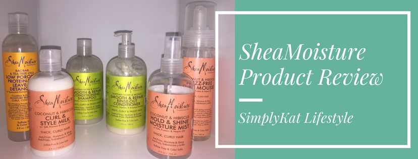 SheaMoisture Hair Care Review!