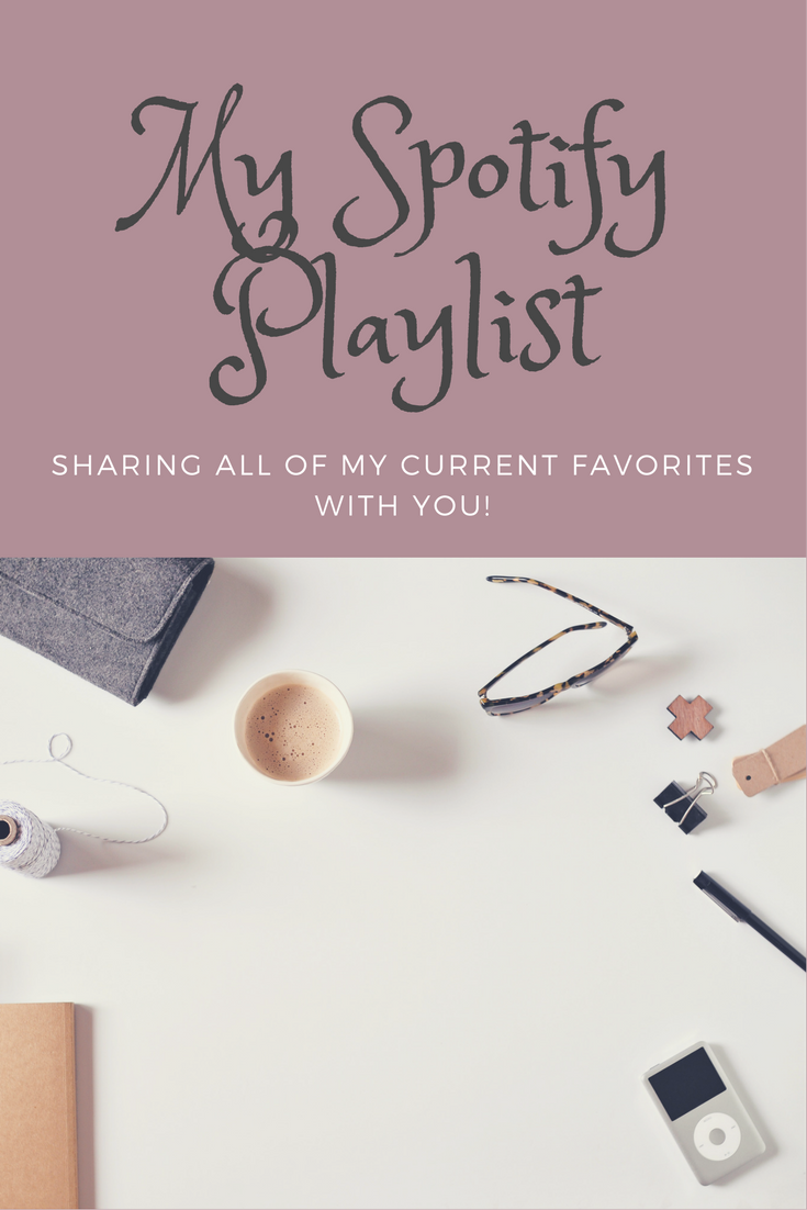 Spotify Playlist: Current Favorites!