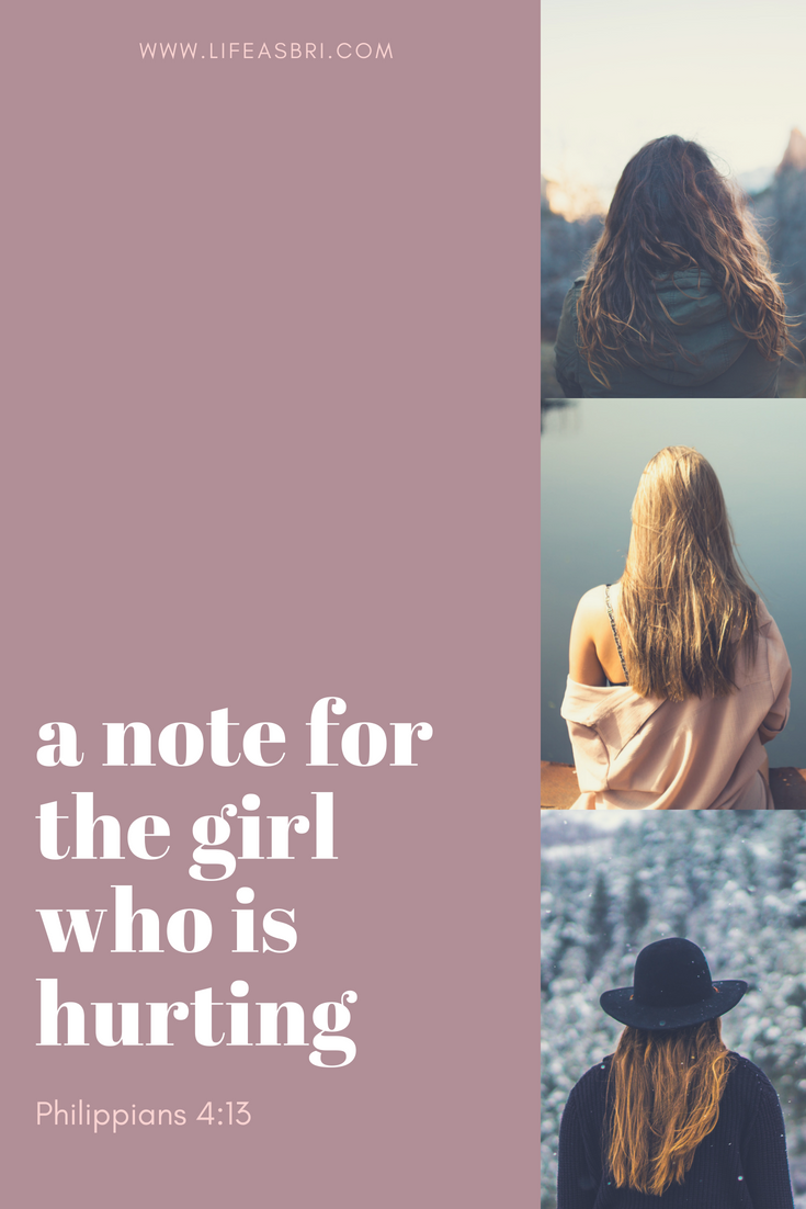 a note for the girl who is hurting (3)
