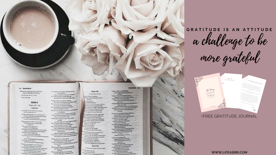 30 Days of Gratitude Challenge + Free Gratitude Journal | #GratefulGlow